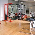 建物内のトレーニングジムです。